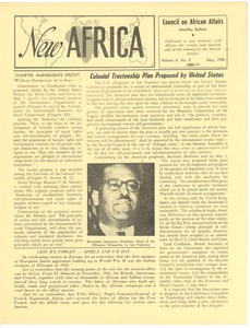 Thumbnail of New Africa volume 4, number 5
