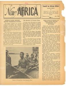Thumbnail of New Africa volume 4, number 7