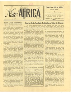 Thumbnail of New Africa volume 4, number 8