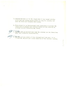 Thumbnail of Draft of Colonial Conference resolution