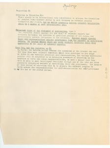 Thumbnail of Addenda to Colonial Conference proposals