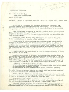 Thumbnail of Confidential memorandum from Walter White to W. E. B. Du Bois and Mary McLeod             Bethune