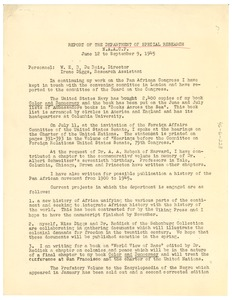 Thumbnail of Report of the NAACP Department of Special Research