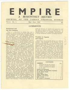 Thumbnail of Empire A Bi-Monthly Record