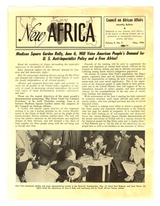 Thumbnail of New Africa volume 5, number 5