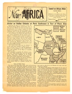 Thumbnail of New Africa volume 5, number 7