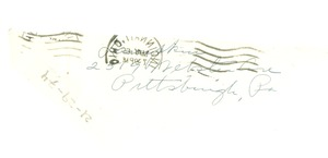 Thumbnail of Letter from Daisy E. Lampkin to Dr. and Mrs. Du Bois