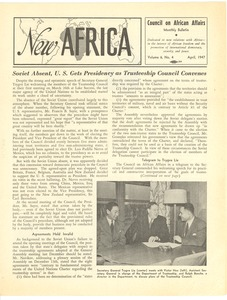 Thumbnail of New Africa volume 6, number 4