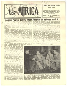 Thumbnail of New Africa Vol. 6, No. 10