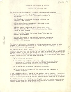 Thumbnail of Report of the Department of Special Research