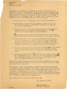 Thumbnail of Afro-Americans petition the United Nations for equal rights