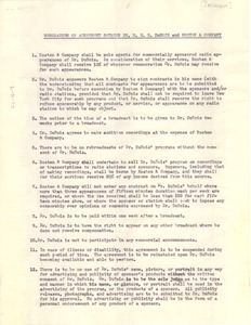 Thumbnail of Memorandum of agreement between Dr. W. E. B. Du Bois and Rosten & Co.