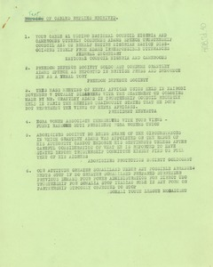 Thumbnail of Transcripts of cabled replies received by the Pan African Federation