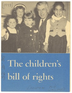 Thumbnail of Children's bill of rights