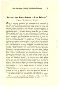 Thumbnail of Principle and rationalization in race relations