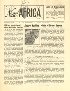 Thumbnail of New Africa volume 8, number 3
