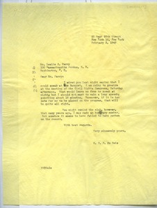 Thumbnail of Letter from W. E. B. Du Bois to Mu-So-Lit Club