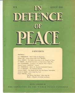 Thumbnail of In defence of peace