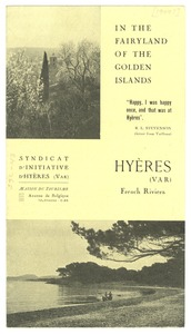 Thumbnail of Hyères travel brochure
