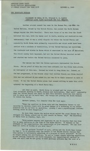 Thumbnail of Statement on Korea by Dr. William E. B. Du Bois