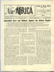 Thumbnail of New Africa volume 9, number 2