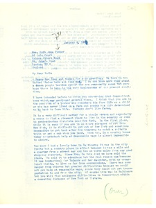Thumbnail of Letter from W. E. B. Du Bois to Ruth Anna Fisher