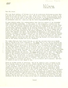 Thumbnail of Letter from Philip Morrison to Thomas Mann
