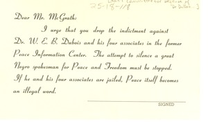 Thumbnail of Petition for Attorney General McGrath