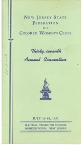 Thumbnail of Thirty-seventh annual convention program