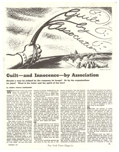 Thumbnail of Guilt -- and innocence -- by association