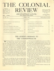 Thumbnail of The Colonial Review