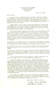 Thumbnail of Circular letter from American Peace Crusade to W. E. B. Du Bois