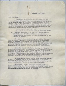 Thumbnail of Letter from W. E. B. Du Bois to Diggs Enterprises