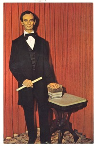 Thumbnail of Postcard of the Springfield Lincoln