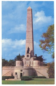 Thumbnail of Postcard of Lincoln's tomb