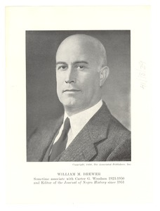Thumbnail of Photograph of William M. Brewer