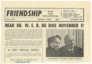 Thumbnail of Hear Dr. W. E. B. Du Bois November 11