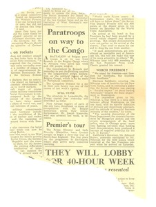 Thumbnail of Paratroops on way to the Congo