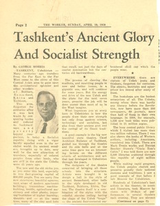Thumbnail of Tashkent's ancient glory and socialist strength