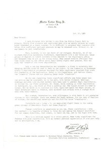 Thumbnail of Circular letter from Martin Luther King, Jr. to W. E. B. Du Bois