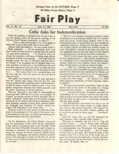 Thumbnail of Fair Play, volume 2, number 15