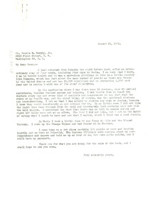 Thumbnail of Letter from W. E. B. Du Bois to George B. Murphy