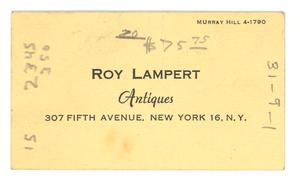 Roy Lampert Antiques