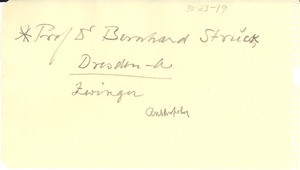 Thumbnail of Note on Bernhard Struck