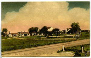 Thumbnail of Blank hand-colored postcard of Trevose, Pa.