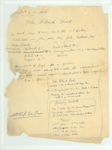 Thumbnail of Notes on the Black book