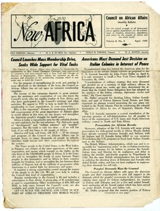 Thumbnail of New Africa, volume 8, number 4 [fragment]