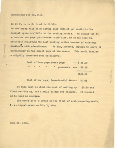 Thumbnail of Memorandum for Mr. Nash