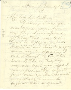 Thumbnail of Letter from James T. Simpson to W. E. B. Du Bois