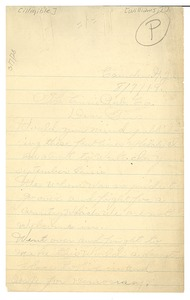 Thumbnail of Letter from Jerome E. Williams to Crisis